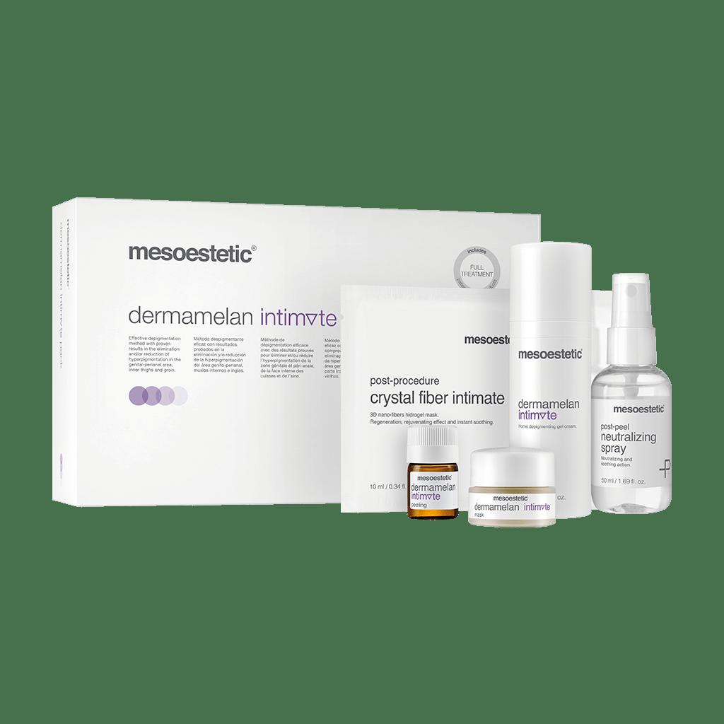 dermamelan® intimate depigmentation method for the intimate area